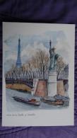 R.LEPINE - Paris - Statue De La Liberté à Grenelle - Illustrateurs & Photographes