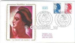 FDC - Premier Jour D´Emission - République - La Liberté De Gandon - Paris - Premier Jour I-VI-1983 - FDC