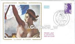 FDC - Premier Jour D´Emission - République - La Liberté De Gandon - Paris - Premier Jour I-VI-1983 (10,00 F) - FDC