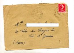 Lettre Cachet Poste Aux Armees Sur Muller - Poststempel (Briefe)