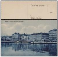 R742 CROATIA RIJEKA FIUME RIVA EMANUELE FILUBERTO (1934) - Croatia