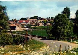 CP - PHOTO - SANXAY - VUE DU BOURG - CIM - France