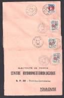 HERAULT  - Lot De 7  Lettres Avec Cachets Pointillés Ou Hexagonaux - Marcophilie (Lettres)