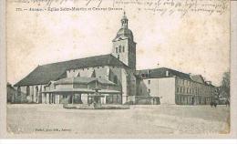 ANNECY    74    Eglise Saint Maurice Et Caserne Decoux      -M5- - Annecy