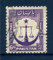 Pakistan 1948-57 Definitives - 6ps Value Used - Pakistan