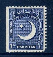 Pakistan 1949-53 Redrawn Definitives - 1a Value Used - Pakistan
