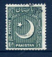 Pakistan 1949-53 Redrawn Definitives - 1½a Value Used - Pakistan