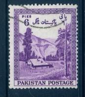 Pakistan 1954 Seventh Anniversary Of Independence - 6p Value Used - Pakistan