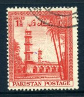 Pakistan 1954 Seventh Anniversary Of Independence - 1½a Value Used - Pakistan