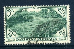 Pakistan 1954 Seventh Anniversary Of Independence - 14a Value Used - Pakistan