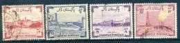 Pakistan 1955-56 Eighth Anniversary Of Independence Set Used - Pakistan