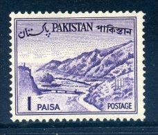Pakistan 1961-63 Definitives - 1p Value Used - Pakistan