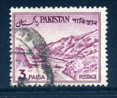 Pakistan 1961-63 Definitives - 3p Value Used - Pakistan