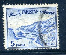 Pakistan 1961-63 Definitives - 5p Value Used - Pakistan