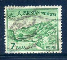 Pakistan 1961-63 Definitives - 7p Value Used - Pakistan