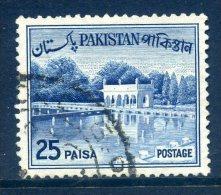 Pakistan 1961-63 Definitives - 25p Value Used - Pakistan