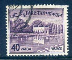 Pakistan 1961-63 Definitives - 40p Value Used - Pakistan