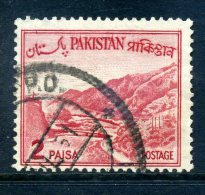 Pakistan 1962-70 Redrawn Definitives - 2p Value Used - Pakistan