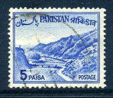 Pakistan 1962-70 Redrawn Definitives - 5p Value Used