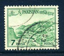 Pakistan 1962-70 Redrawn Definitives - 7p Value Used - Pakistan