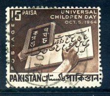 Pakistan 1964 Childrens Day Used - Pakistan