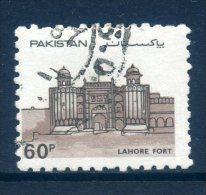 Pakistan 1984 Forts - 60p Value Used - Pakistan