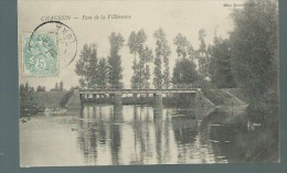 Jura  - Chaussin  -  Pont De La Villeneuve - Frankrijk