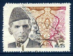 Pakistan 1994 Mohammed Ali Jinnah - 25r Value Used - Pakistan