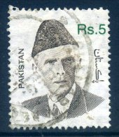 Pakistan 1998 Mohammed Ali Jinnah - 5r Value Used - Pakistan