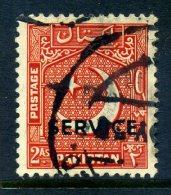 Pakistan 1953 SERVICE Overprints - 2a Value Used - Pakistan