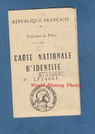 Carte Ancienne D'identité De 1960 - MONTREUIL - Alfred BATO Né à Saint Dié ( Vosges ) - Cachet De Préfecture - Documenti Storici