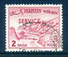 Pakistan 1961-63 SERVICE Overprints - 2p Value Used - Pakistan