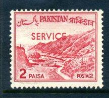 Pakistan 1963-78 SERVICE Overprints - 2p Value Used - Pakistan