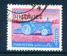 Pakistan 1979 SERVICE Overprints - 40p Value Used - Pakistan