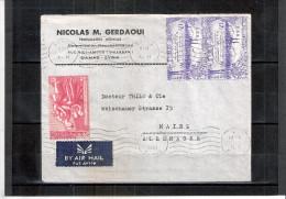 Lettre De Syrie Vers L'Allemagne - 1959  (à Voir) - Syrie