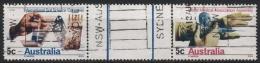 Australien 1968 Kongreß Bodenforsch./Kongreß Weltärztebd.404/05 ZS Gestempelt - Used Stamps
