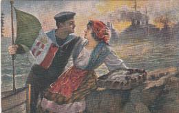 LA NOSTRA GLORIOSA MARINA  _ Viaggiata 1922 - Guerre 1914-18