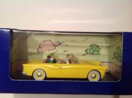 VOITURE TINTIN - LA VOITURE BORDURE DE L'AFFAIRE TOURNESOL - 016 - Tintin
