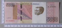 ANGOLA  5000  KWANZAS  2012     -    (Nº00007) - Angola