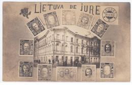 Lithuania Lietuva Germany Litwa 1922, Kowno Kovno Kaunas, Lithuanian Government And Famous People - Lithuania