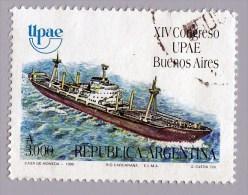 ARGENTINA - Scott #1706 Sailing Ships / Used Stamp - Argentina