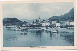 1059 - SALUTI DA LAVENO LAGO MAGGIORE ANIMATA INIZI 1900 - Varese