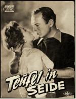 """Das Neue Film-Programm Von Ca. 1956  -  """"Teufel In Seide""""  -  Mit Lilli Palmer , Curd Jürgens - Magazines"""