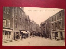 42 Loire BOURG ARGENTAL Rue Du Cardinal Donnet - Bourg Argental