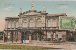 CPA COSTA RICA SAN JOSE Teatro Nacional Carte Colorisée - Costa Rica