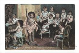 12316 - Rouget De L'Isle Chantant La Marseillaise Enfants Piano Et Chat - Musique Et Musiciens