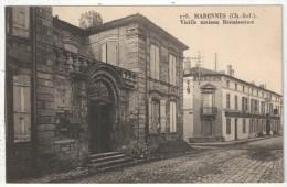 17 - MARENNES - Vieille Maison Renaissance - Servois 175 - Marennes