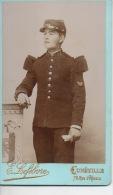 Photos Avant 1900 10,2 Par 6,2 Cm Lefebvre Lunéville Militaire Du 106 ème - Photos