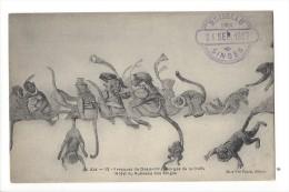 12325 - Blida  Fresques De Desjardins Gorges De La Chiffa Hôtel Du Ruissau Des Singes 1907 - Blida