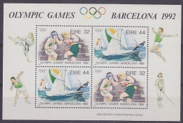 Ireland 1992 Olympic Games Barcelona M/s ** Mnh (21205) - Zomer 1992: Barcelona